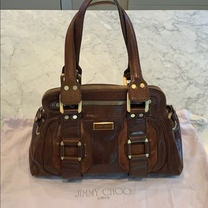 Authentic Jimmy Choo shoulder bag